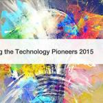 Technology Pioneers 2015 – World Economic Forum
