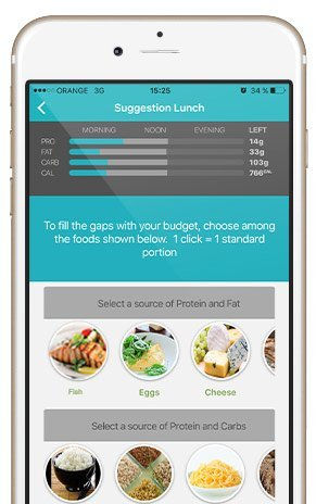 Nutrition app for healthy eating, weight loss, diabetes ...