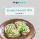 Hummus and Avocado Sandwich